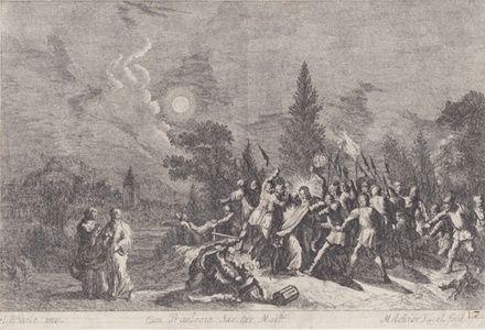 Seizure of Christ | Sanders of Oxford