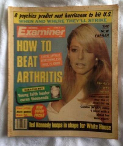 Farrah Fawcett National Examiner October 16, 1979 The New Farrah | #462951367