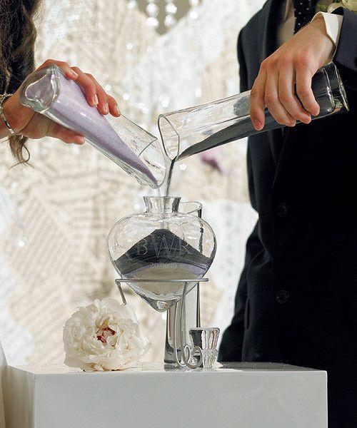 Rituales para una ceremonia civil: ceremonia de la vela y ceremonia de la arena