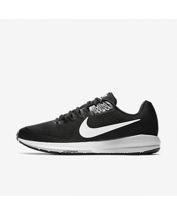 Nike Air Zoom Structure 21 Black Wolf Grey Cool Grey White 904695 001 Running Shoes For Men Nike Men Nike