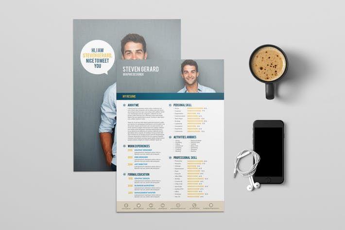 Resume #apps #jobs Download : http://1.envato.market/c/97450/298927/4662?u=https://elements.envato.com/resume-F42TAZ