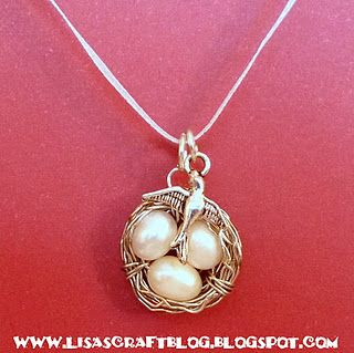 tutorial to make metal nest jewelry