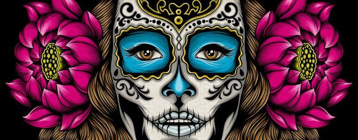 Самое захватывающие действо (по меркам туристов) В Мексике происходит 1 и 2 ноября: все празднуют День мёртвых. В эти дни устраивается карнавал, готовятся сладости в виде черепов 💀 и фигурок одетых женских скелетов, напоминающих Катрину. Даже если Вы не имеете никакого отношения к данному празднику, все равно предлагаем Вам присоединиться, не пожалеете! 🕸 Задать вопрос La Calavera de la Catrina или Santa Muerte можно отправив заявку через сайт abpotapov.com