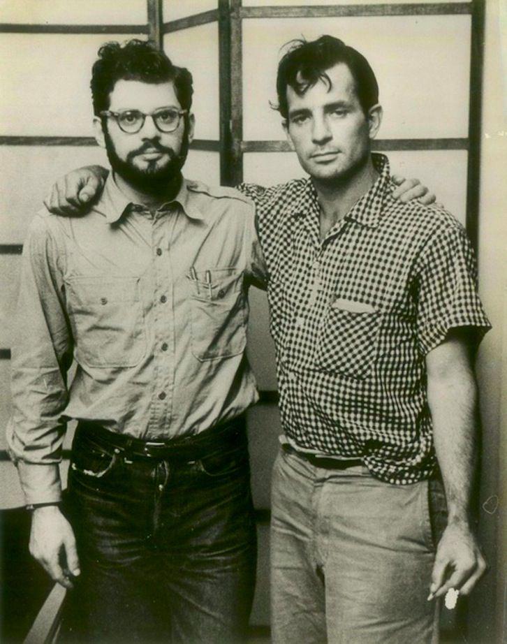 Allen Ginsberg & Jack Kerouac (1922-1969).....Ecrivains de cette période ....reépinglé par Maurie Daboux웃