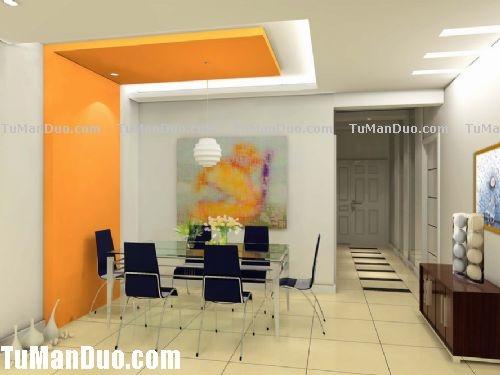 modern dining ceiling design