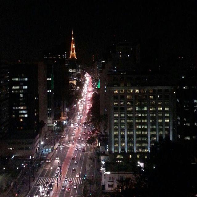 Avenida Paulista vista a partir da ABTO by Thiago Quintas #saopaulocity #paulista #abto
