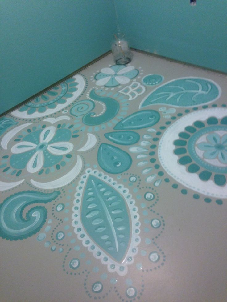 How to paint concrete floors, Postbox Designs                                                                                                                                                                                 More