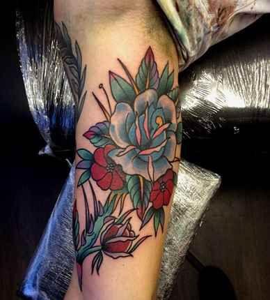 Flower-Tattoos-for-Men.jpg 388×430 pixels