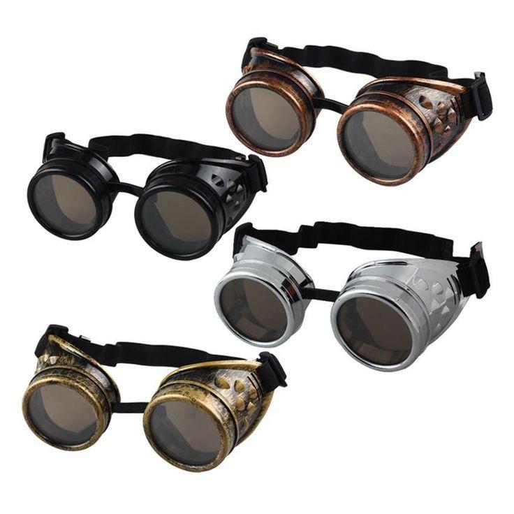 Óculos de Sol Steampunk Vintage Punk Gothic - Unisex – 2pinikim.com