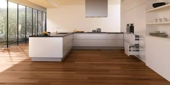 Blackbutt flooring. Matte.