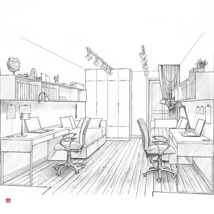 1682 best INTERIOR PERSPECTIVE DRAWINGS images on