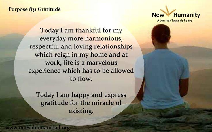 Purpose 831 Gratitude
