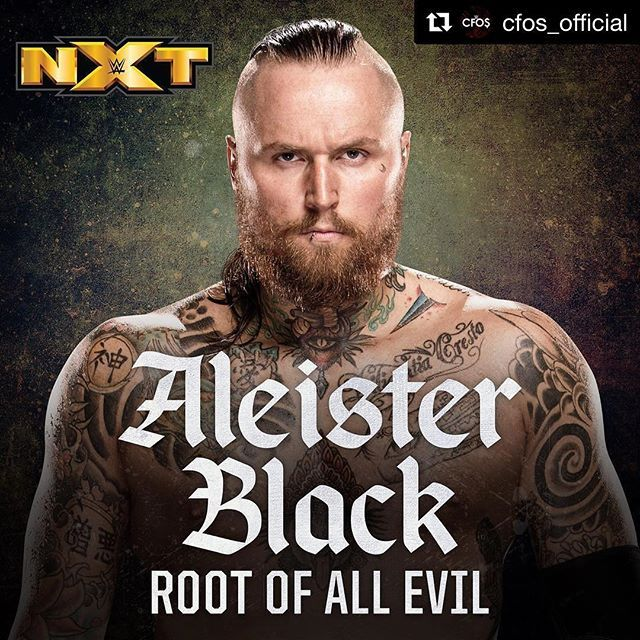 wwe @cfos_official ends their #BestOf2017 #WWE entrance themes, with @aleister_black at #️⃣1️⃣! #WWENXT  2018/01/01 02:01:26