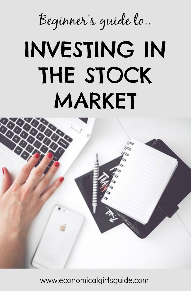 How to invest in the stock market! Beginner's guide to diy investing. | Economical Girl's Guide