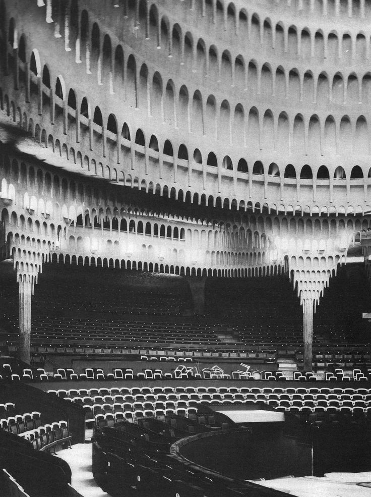 HANS POELZIG GROSSES SCHAUSPIELHAUS IN BERLIN / GREAT THEATER IN BERLIN, 1920 …this will be the first post of the vault-series
