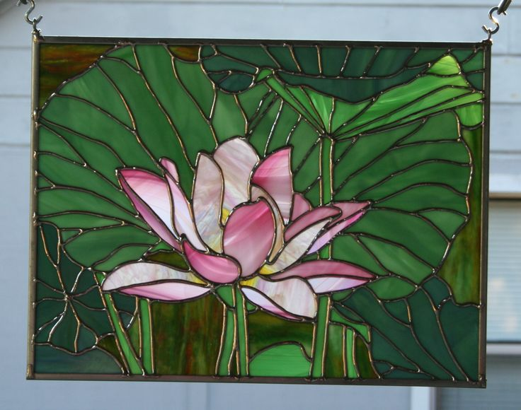 stained glass another | Original photo that Lori's Lotus is taken from.