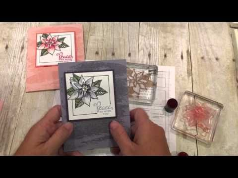 Friday Quickie Techniques and Tips Video Series: Sponge Shading, Dena Rekow, The Creativity Cave, #stampinup #handmade #greetingcards Reason for the Season, Watercolor Wash Background
