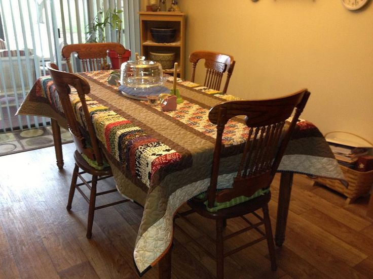 Quilting: Quilted Tablecloth