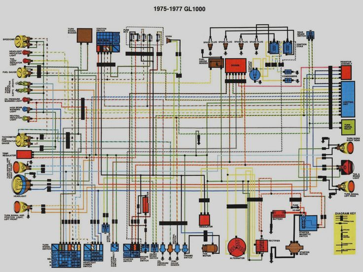 Honda Gl Wiring Diagrams - Wiring Diagrams Schematics ...