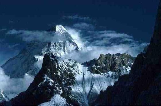 K2 is the second-highest mountain on Earth, after Mount Everest. With a peak elevation of 8,611 m, K2 is part of the Karakoram Range