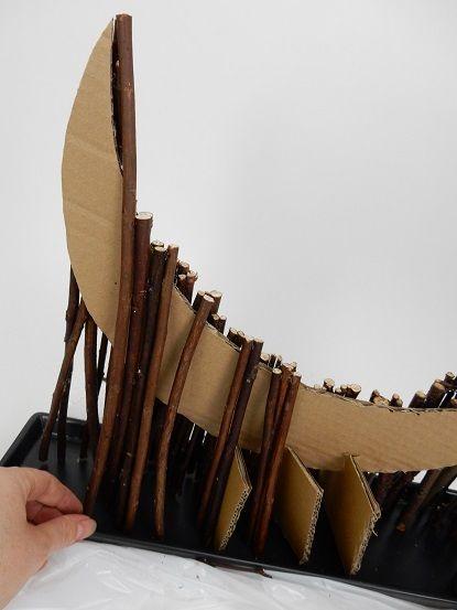 Blijven meten, knippen en plakken in sticks