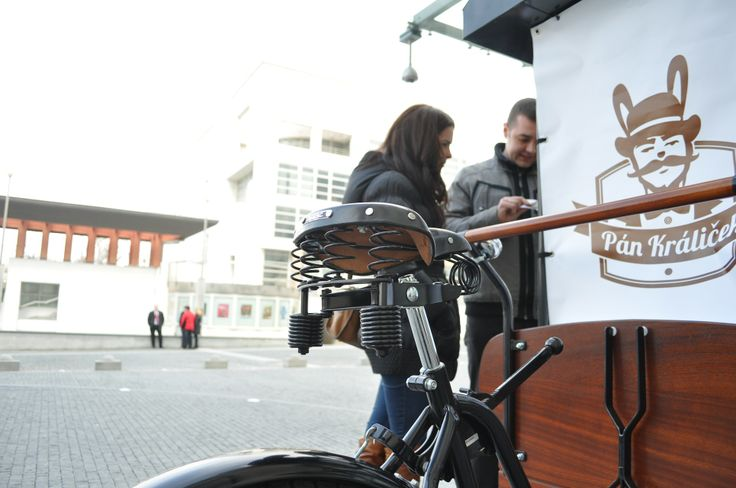 Mr. Králiček @ Coffeefest Slovakia 2013 #kavomilci #coffeelovers #coffee #bike