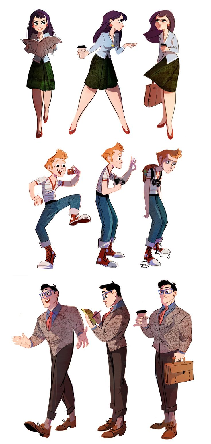 Lois, Jimmy and Clark by *The-Orange-One on deviantART