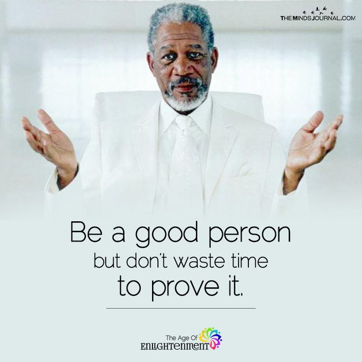 Be A Good Person - https://themindsjournal.com/good-person/