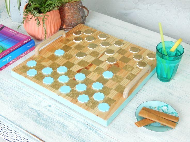Les 25 meilleures id es de la cat gorie jeu de dames sur pinterest jeu echec bois jeu echec - Comment fabriquer le jeu tac tik ...
