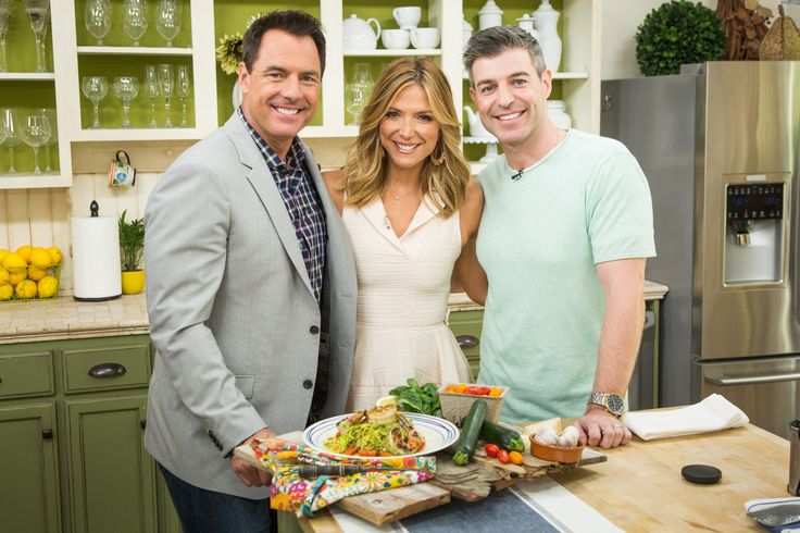 Zucchini Spaghetti with Pesto, Shrimp and Cherry Tomatoes | Recipe | Home & Family | Hallmark Channel