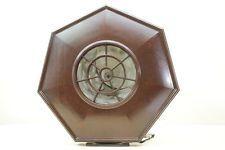 Alter Lautsprecher Bakelit Gehäuse, Philips Typ 2109, BOX, Tischlautsprecher