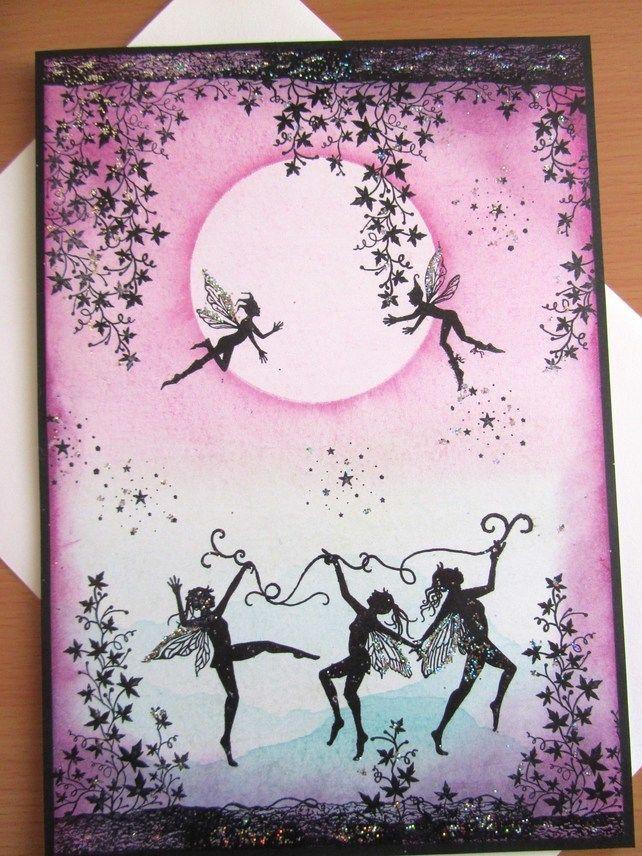 Handmade Fairy Card £2.50
