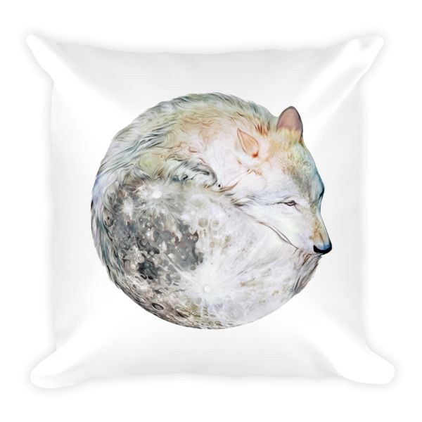 Lone Wolf Pillow
