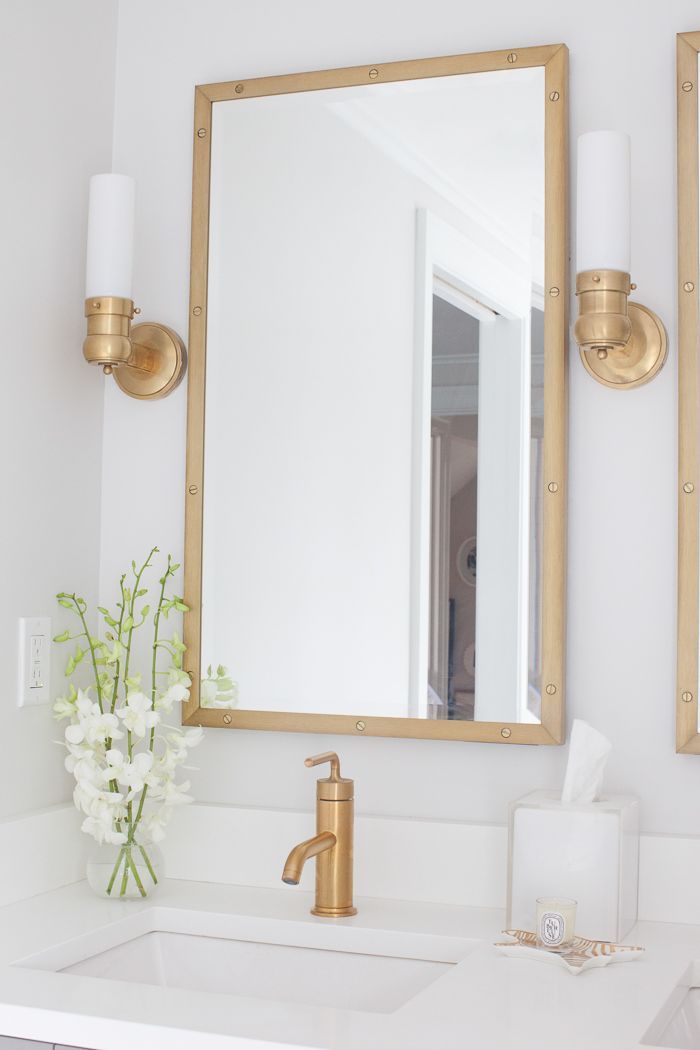 316 best images about brass gold is back on pinterest for Master bathroom fixtures