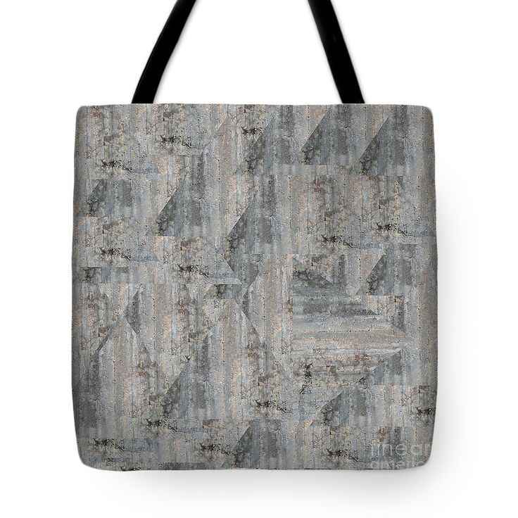 Concrete Wall Tote Bag by Sverre Andreas Fekjan.  The tote bag is machine washable, available in three different sizes, and includes a black…