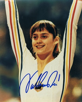 nadia comenici- The first to be perfect