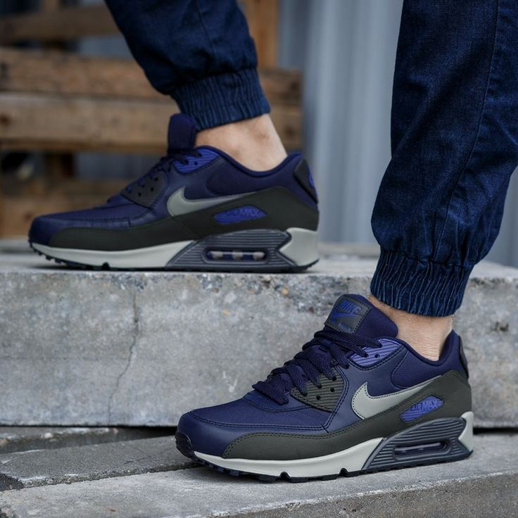first rate bb262 460b8 buty nike air max 90 essential dark electric blue christmas