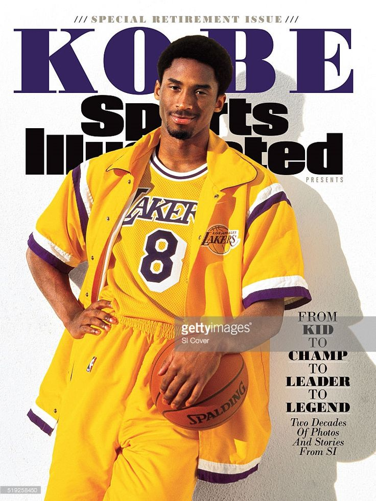 Portrait of Los Angeles Lakers Kobe Bryant posing during