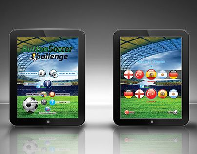 "Check out new work on my @Behance portfolio: ""ButtonSoccer Challenge - iPad Game Menu Design"" http://be.net/gallery/38677367/ButtonSoccer-Challenge-iPad-Game-Menu-Design"