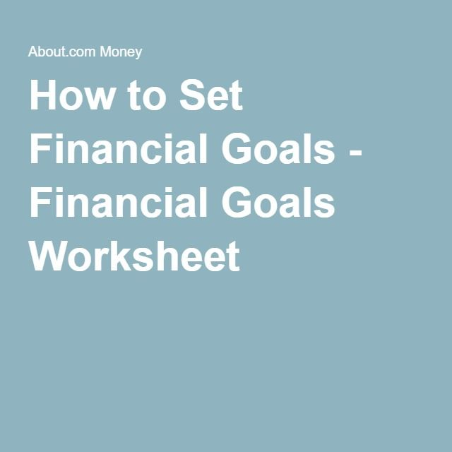 Financial Goals: 25+ Best Ideas About Financial Goals On Pinterest