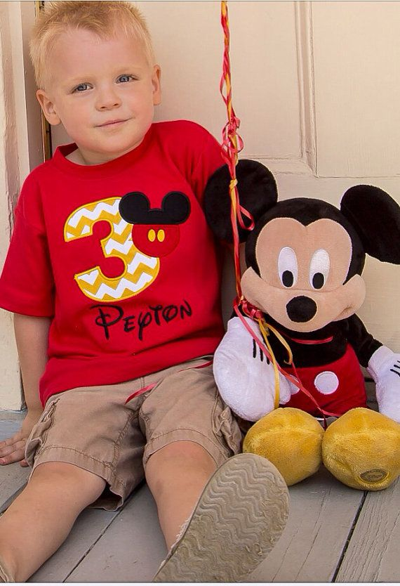 Mickey Mouse Birthday shirt / Free by MajorMonograms on Etsy, $22.00