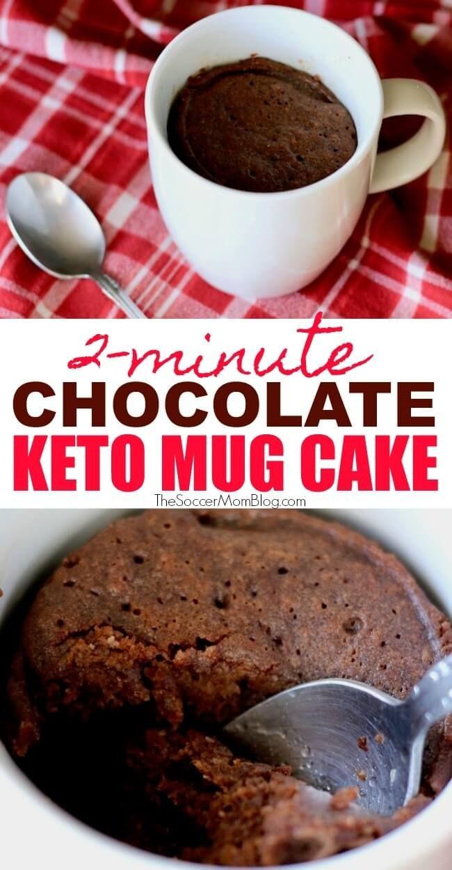 Moist Keto Mug Cake Recipe (Low Carb) | Recipe | Keto ...