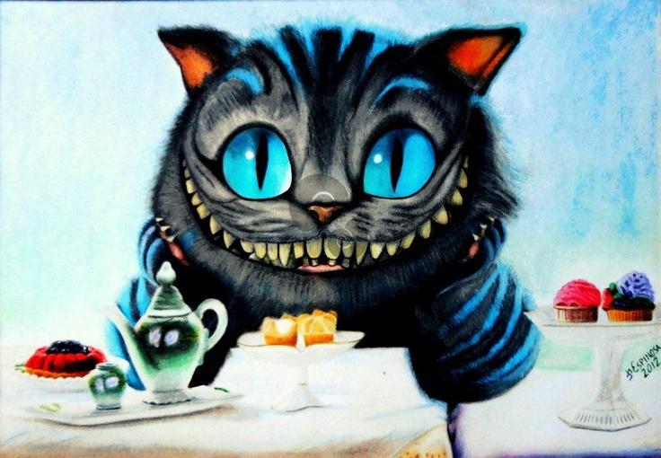 $1000 PESOS MEXICANOS MAS GASTOS DE ENVIO, el gato rison by Jorge D. Espinosa Alice in wonderland