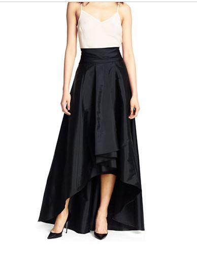 High Low Ball Skirt Black skirt