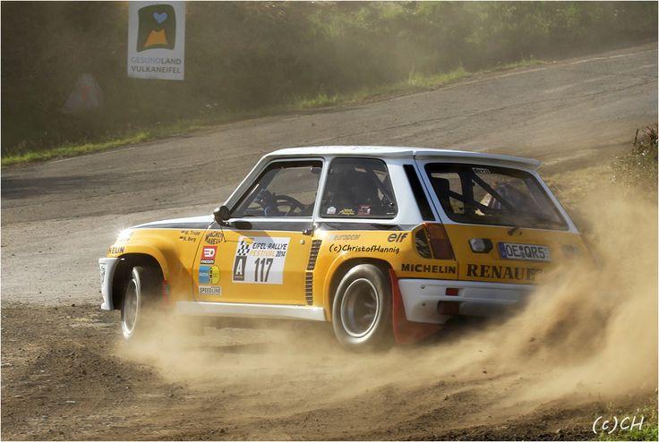 Markus Trapp / Roland Berg im Renault 5 Turbo - Group B - Eifel Rallye Festival 2014 in Daun
