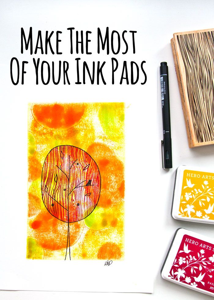 VIDEO: Ink Pad Art: Make The Most Of Your Ink Pads