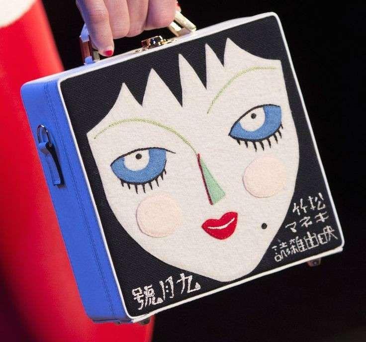 Collezione borse Olympia Le Tan Primavera/Estate 2016 - Box bag con volto di…