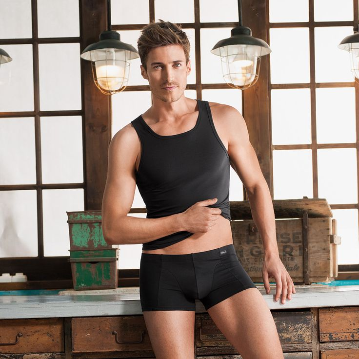Skiny Basic Men Option / Tank Top & Pant. #skinybodywear