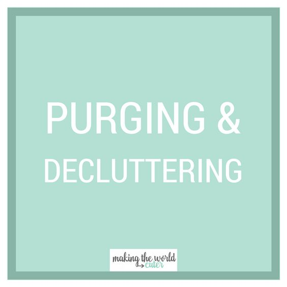 Get motivation to declutter your home for spring cleaning or any time you need t…