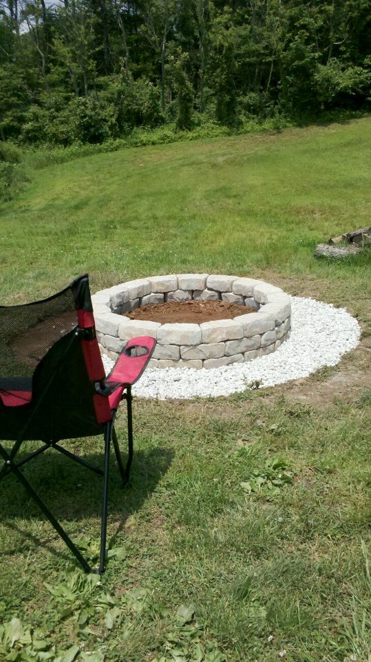 12 best images about yard stones on pinterest gardens - Low cost landscaping ideas ...